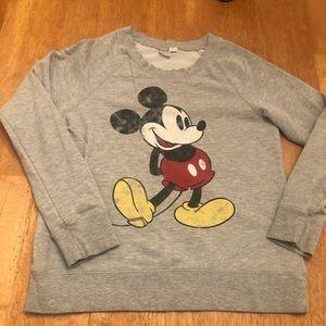Disney Mickey Mouse sweatshirt very good cond Sz S